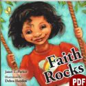 CFaith Rocks (Children's E-book PDF Download) by Janet L. Parker - Click To Enlarge