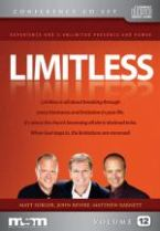 Limitless (6 CD Conference CD Set) by John Bevere, Matthew Barnett, and Matt Sorger