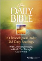 NIV Chronological One Year Study Bible (NIV Soft Cover Bible) by Harvest House Publishers