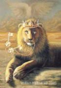 CKeys to the Kingdom, (Prophetic Print-Size 8 x 11 ) by William Hallmark - Click To Enlarge