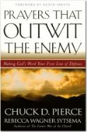 CPrayers That Outwit the Enemy (book) by Chuck Pierce and Rebecca Wagner - Click To Enlarge